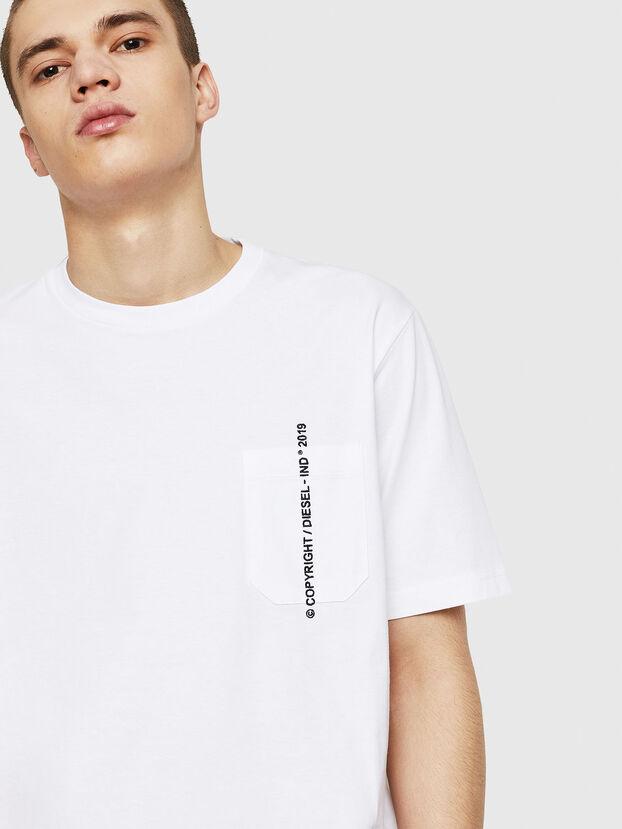T-JUST-POCKET-COPY, White - T-Shirts