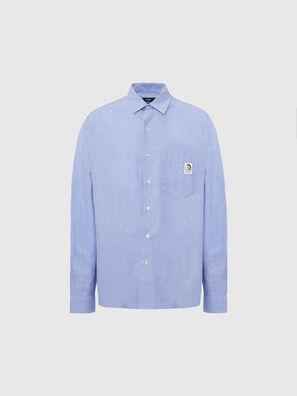 S-LOOMY-A, Light Blue - Shirts