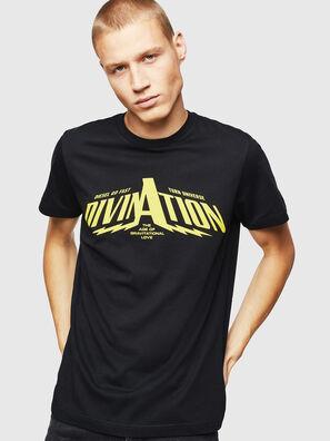 T-DIEGO-B16, Black - T-Shirts