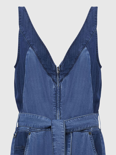 Diesel - DE-LORYNA, Medium blue - Jumpsuits - Image 4