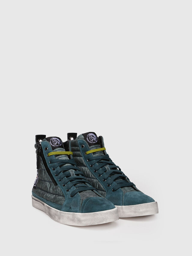 Diesel - D-VELOWS MID PATCH, Water Green - Sneakers - Image 3