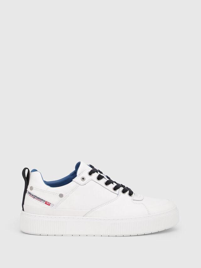 Diesel - S-DANNY LC, White/Blue - Sneakers - Image 1
