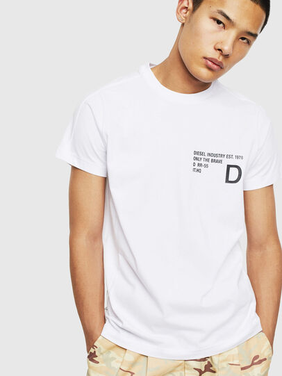 Diesel - T-HOVER, White - T-Shirts - Image 1