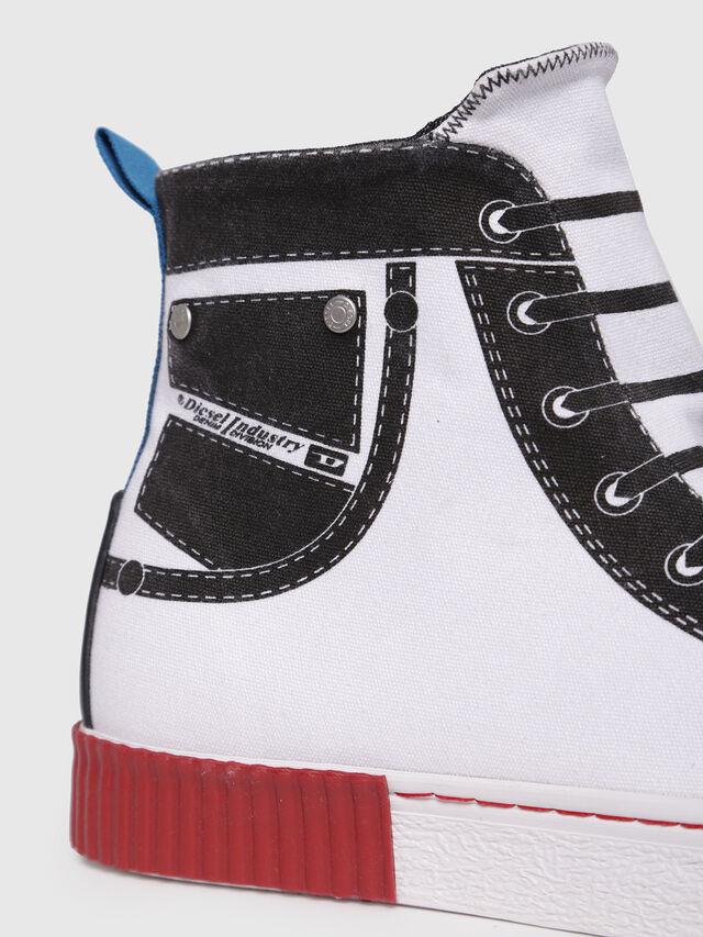 Diesel - S-DIESEL IMAGINEE MID, White - Sneakers - Image 4