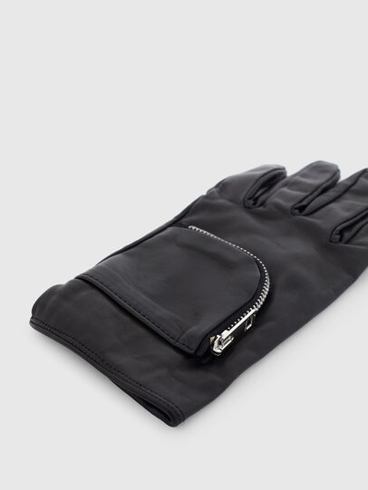Diesel - GIRAGE, Black - Gloves - Image 2