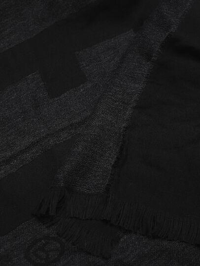 Diesel - SDIELY, Black - Scarf - Image 3