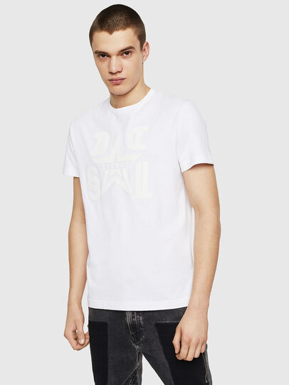Diesel - T-DIEGO-A8, White - T-Shirts - Image 1
