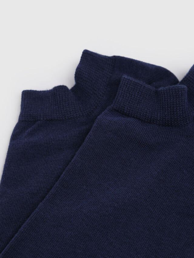 Diesel - SKM-GOST, Navy Blue - Low-cut socks - Image 2