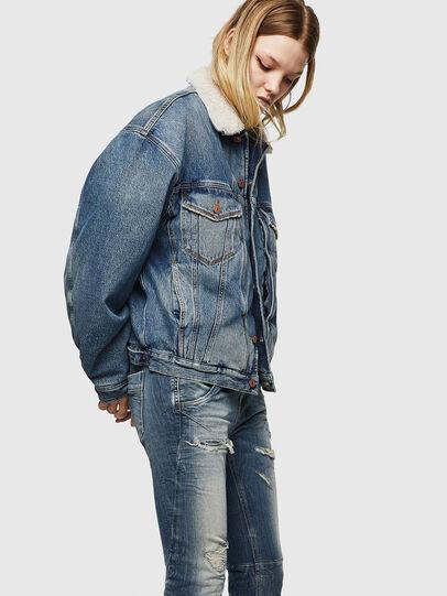 Diesel - Fayza JoggJeans 0890A, Light Blue - Jeans - Image 4