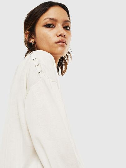 Diesel - M-PERLA-A, White - Knitwear - Image 5
