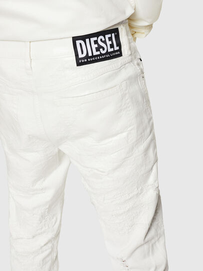Diesel - Mharky 069GY, White - Jeans - Image 5