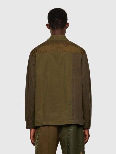 Diesel - S-ADAIR, Olive Green - Shirts - Image 2