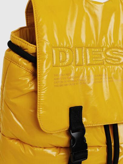 Diesel - VOLPAGO BACK, Yellow - Backpacks - Image 4