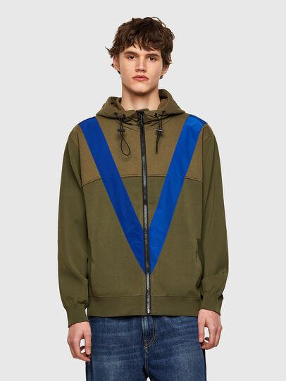 Diesel - K-ARSENIC, Olive Green - Knitwear - Image 1