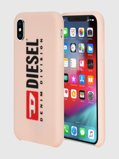 Diesel - DIESEL PRINTED CO-MOLD CASE FOR IPHONE XS & IPHONE X, Face Powder - Cases - Image 1