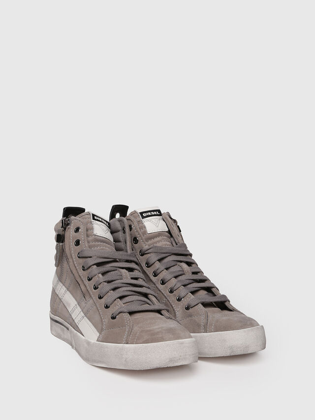 Diesel - D-VELOWS MID LACE, Grey - Sneakers - Image 3