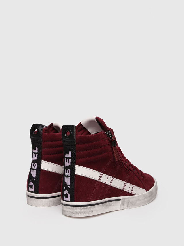 Diesel - D-VELOWS MID LACE, Red - Sneakers - Image 2
