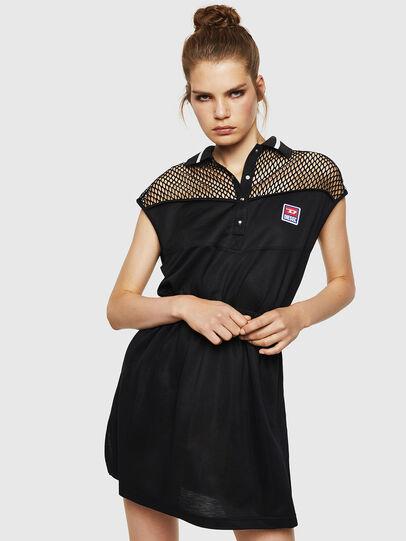 Diesel - D-REIA, Black - Dresses - Image 1