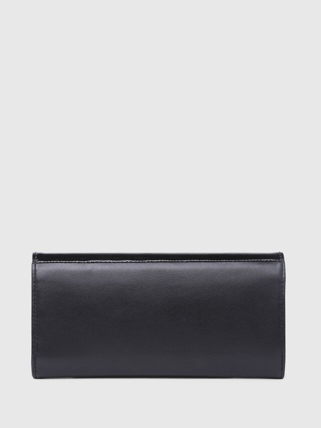 Diesel - 24  A DAY, Gray/Black - Continental Wallets - Image 2