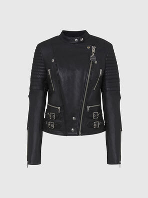 L-IGE-NEW, Black - Leather jackets