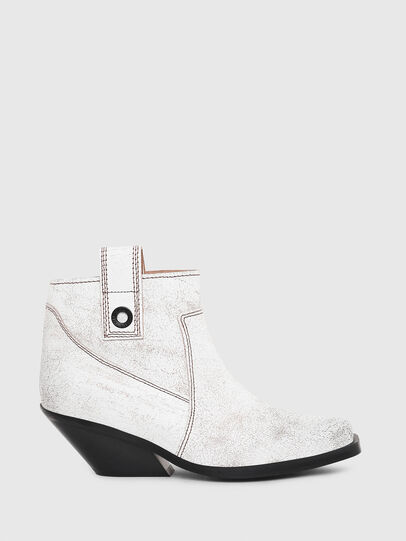 Diesel - D-GIUDECCA MAB, White - Ankle Boots - Image 1