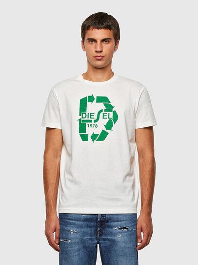 Diesel - T-DIEGOS-N23, White - T-Shirts - Image 1