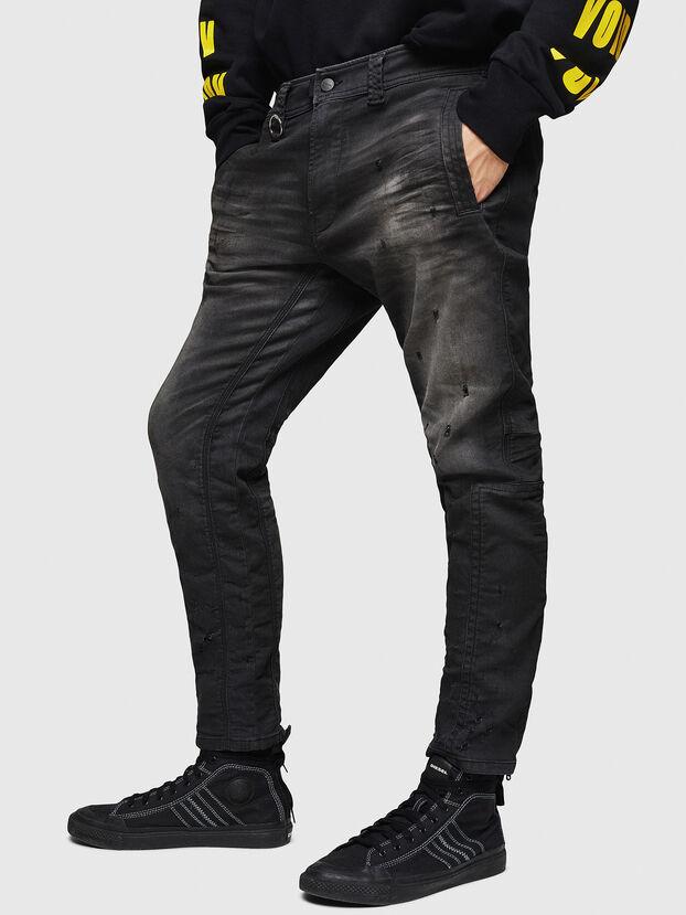 D-Earby JoggJeans 069GN, Black/Dark grey - Jeans