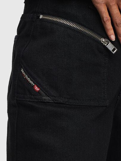 Diesel - DE-REIKA-SX, Black - Pants - Image 3