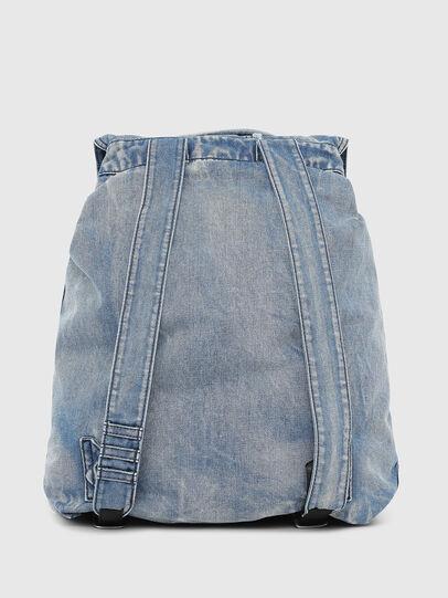 Diesel - VOLPAGO BACK, Blue Jeans - Backpacks - Image 2