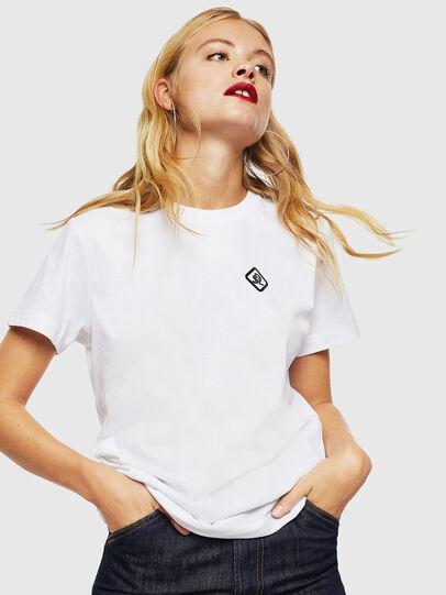 Diesel - CC-T-DIEGO-COLA, White - T-Shirts - Image 2