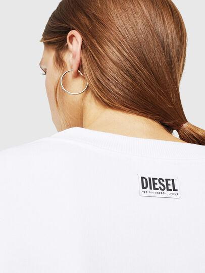 Diesel - F-AKUA, White - Sweaters - Image 4