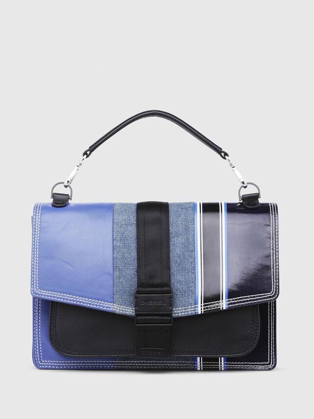 Diesel - MISS-MATCH CROSSBODY, Blue - Crossbody Bags - Image 1