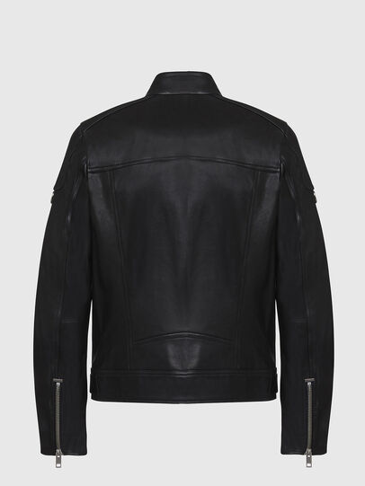 Diesel - L-CODY, Black - Leather jackets - Image 2