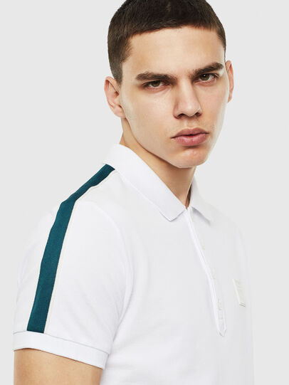 Diesel - T-RALFY-S1, White - Polos - Image 3