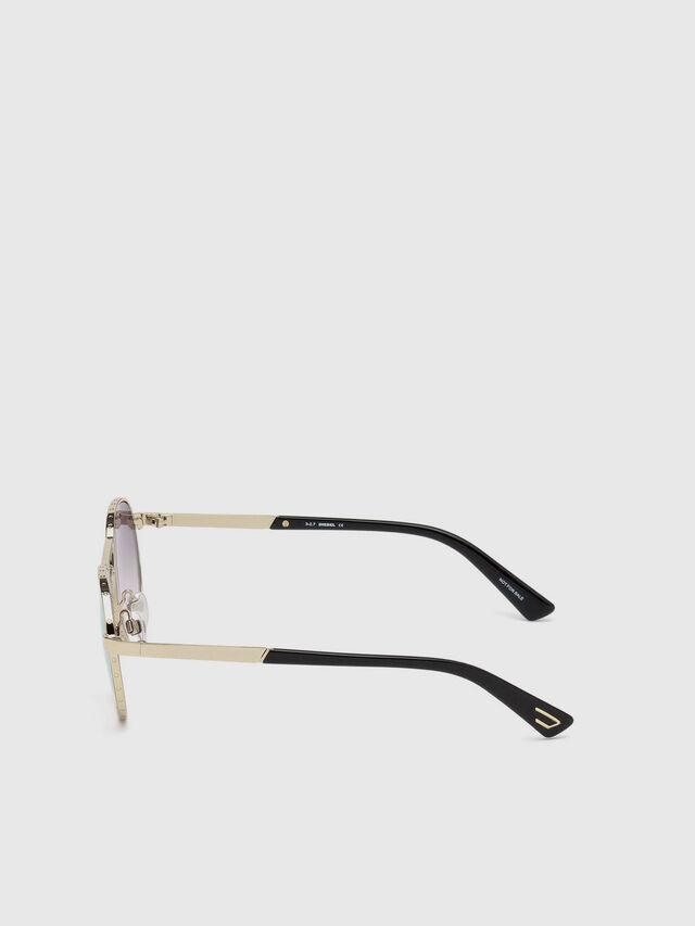Diesel - DL0265, Gold - Eyewear - Image 3