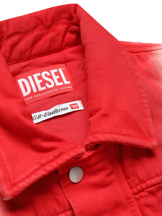 Diesel - GR02-U301, Red/White - Jumpsuits - Image 3