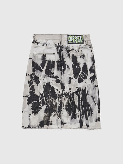 Diesel - DE-ELLYOT-SP, Black/White - Skirts - Image 2
