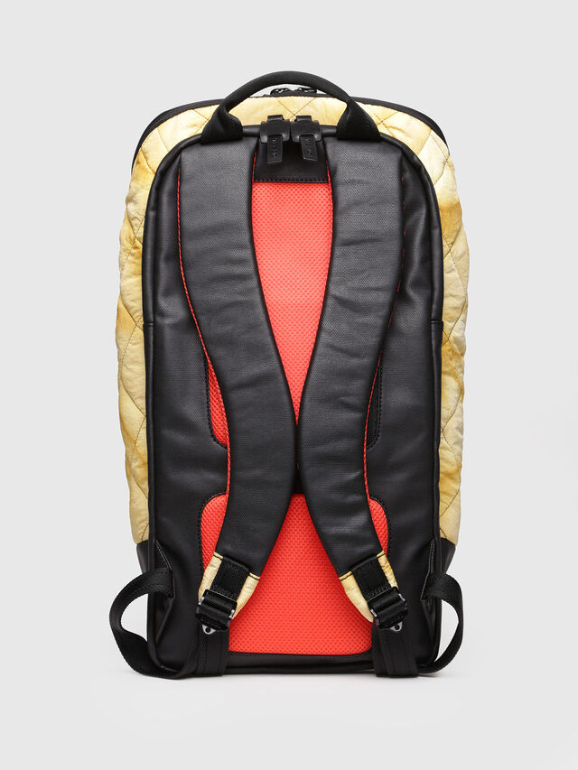 Diesel - F-HEYODA BACK, Yellow - Backpacks - Image 2