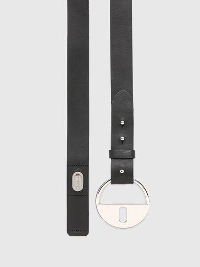 Diesel - B-DLOCK, Black - Belts - Image 3