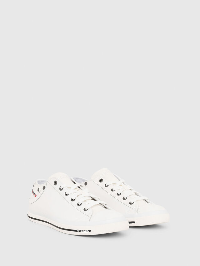 Diesel - EXPOSURE LOW I, White - Sneakers - Image 2