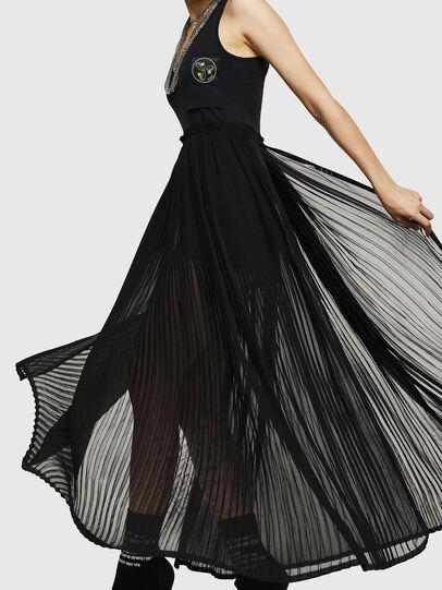 Diesel - D-TEHEI, Black - Dresses - Image 4
