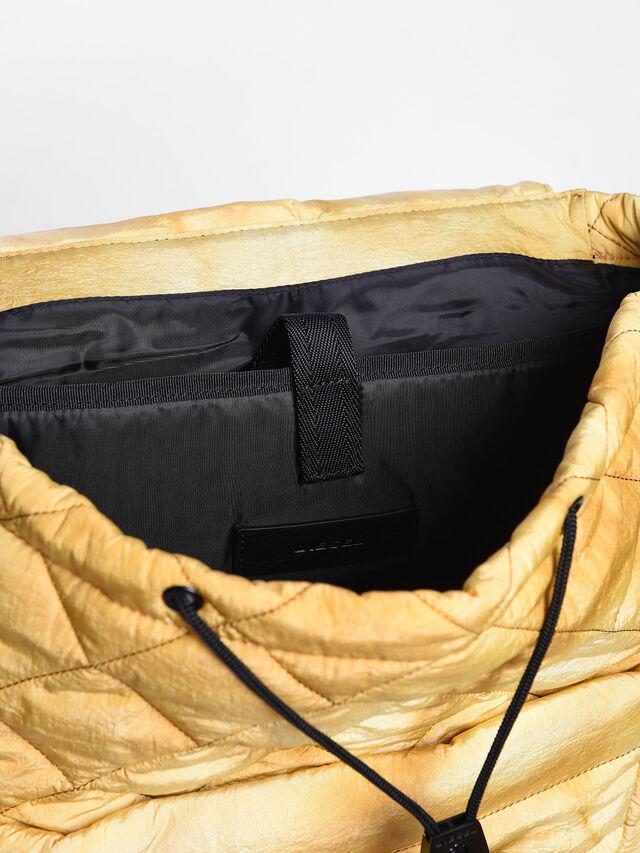 Diesel - F-HEYODA BACK L, Yellow - Backpacks - Image 3