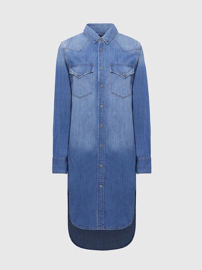 Diesel - DE-BLANCHE, Light Blue - Dresses - Image 1