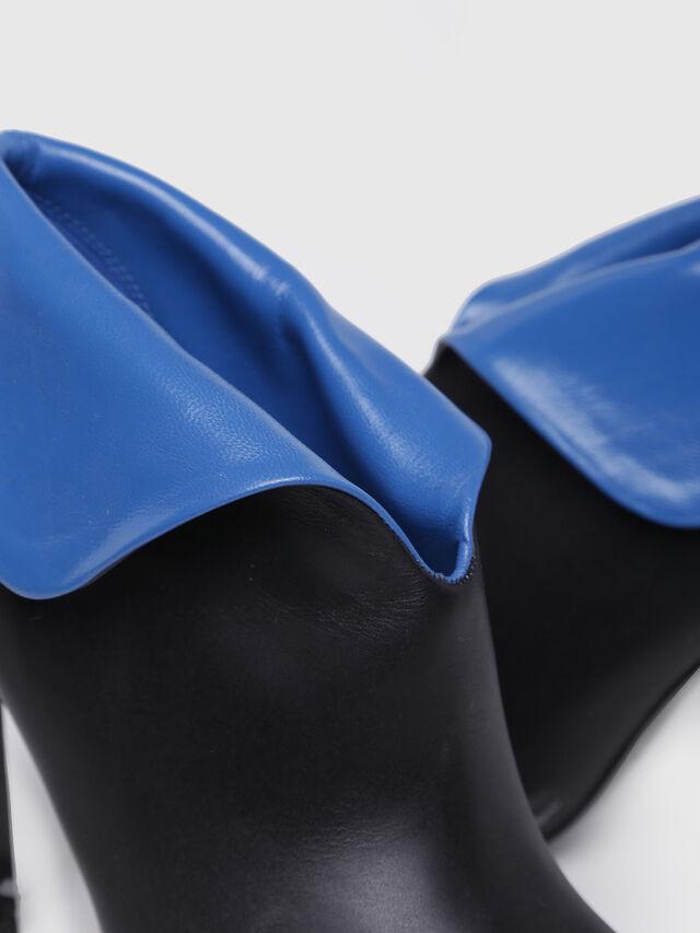 Diesel - D-SLANTY HA, Black/Blue - Ankle Boots - Image 4