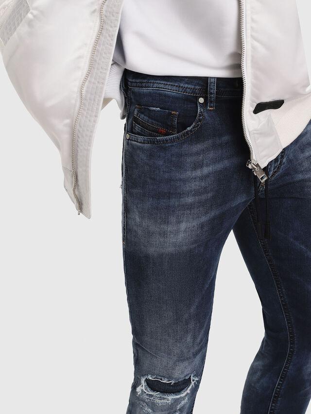 Diesel - Thommer JoggJeans 069AA, Medium blue - Jeans - Image 3