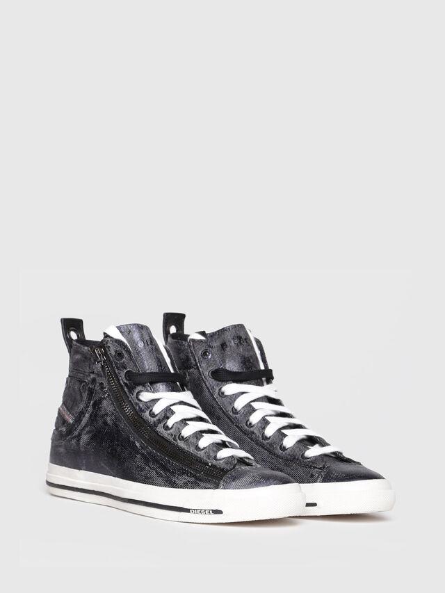 Diesel - EXPO-ZIP W, Black Jeans - Sneakers - Image 2