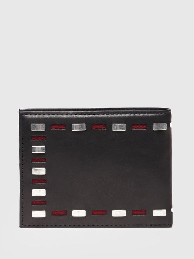 Diesel - NEELA XS, Black Leather - Small Wallets - Image 2