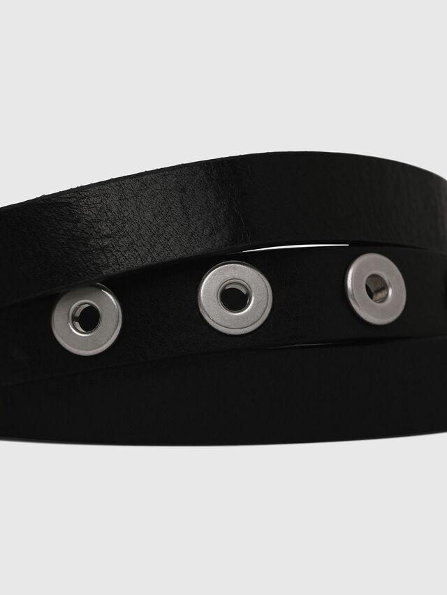 Diesel - B-GROM, Black - Belts - Image 2