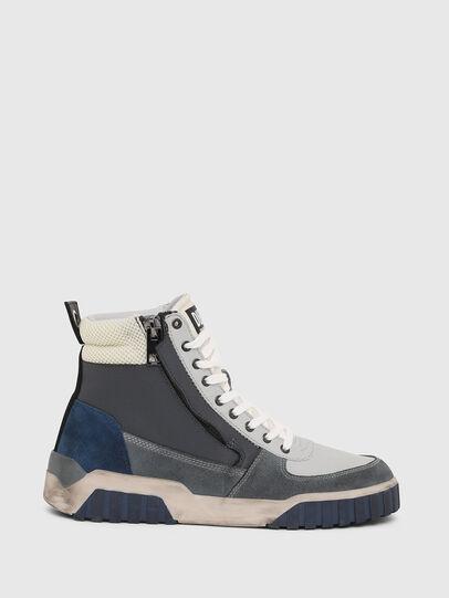Diesel - S-RUA MID, Grey - Sneakers - Image 1
