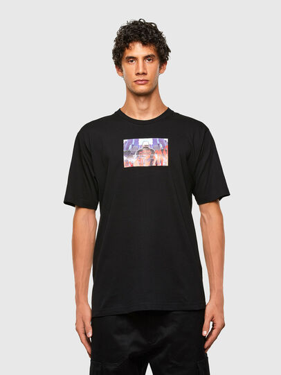 Diesel - T-TUBOLAR-N2, Black - T-Shirts - Image 1